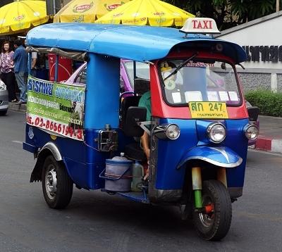 Chatuchak Market Tuk Tuk